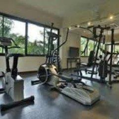 Отель Aquamarine Resort & Villa фитнесс-зал фото 3