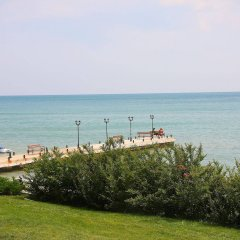 Отель Комплекс Райский сад Болгария, Свети Влас - отзывы, цены и фото номеров - забронировать отель Комплекс Райский сад онлайн пляж