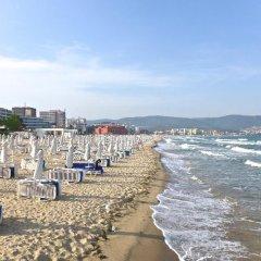 Отель Summer Dreams Болгария, Солнечный берег - отзывы, цены и фото номеров - забронировать отель Summer Dreams онлайн пляж фото 2