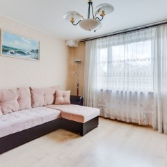 Апартаменты Apartment near park Kolomenskoe комната для гостей фото 5