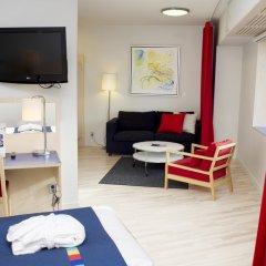 Отель Park Inn by Radisson Stockholm Hammarby Sjöstad комната для гостей фото 3