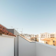 Апартаменты Lisbon Serviced Apartments Chiado Emenda балкон