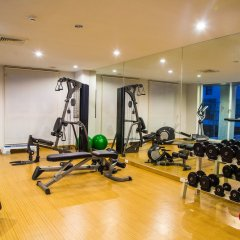 Отель Patio Luxury Suites фитнесс-зал