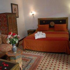 Отель Riad Dar Dmana Марокко, Фес - отзывы, цены и фото номеров - забронировать отель Riad Dar Dmana онлайн комната для гостей фото 4