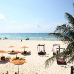 Отель El Campanario Studios & Suites Мексика, Плая-дель-Кармен - отзывы, цены и фото номеров - забронировать отель El Campanario Studios & Suites онлайн пляж фото 2