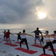 Отель Evexia Beach Collection Laamu фитнесс-зал