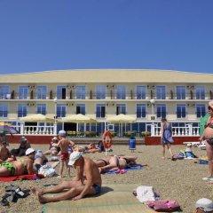 Гостиница Тихая Гавань пляж фото 2