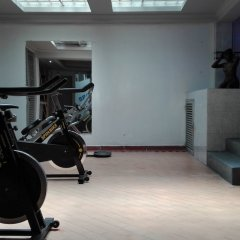 Hotel Cafe Real фитнесс-зал фото 2
