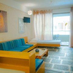 Отель Apollonia Hotel Apartments Греция, Вари-Вула-Вулиагмени - 1 отзыв об отеле, цены и фото номеров - забронировать отель Apollonia Hotel Apartments онлайн комната для гостей фото 5
