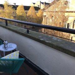 Отель Merchant City Apartments Великобритания, Глазго - отзывы, цены и фото номеров - забронировать отель Merchant City Apartments онлайн балкон