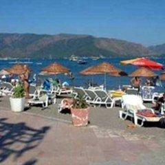 Le Blu Hotel пляж