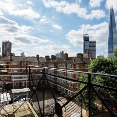 Отель Warehouse Loft in London Bridge балкон