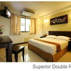 Отель Rambuttri Village Inn & Plaza 3* Стандартный номер с различными типами кроватей фото 18