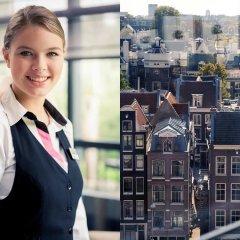 Отель Mercure Amsterdam West балкон