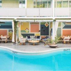 Отель Avalon Hotel Beverly Hills США, Беверли Хиллс - отзывы, цены и фото номеров - забронировать отель Avalon Hotel Beverly Hills онлайн бассейн фото 2
