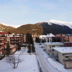 Отель Alpina Швейцария, Давос - отзывы, цены и фото номеров - забронировать отель Alpina онлайн спортивное сооружение