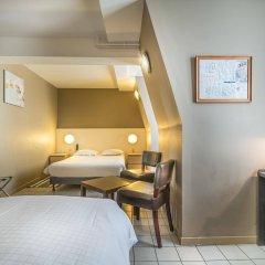 Отель Lambeau Бельгия, Брюссель - отзывы, цены и фото номеров - забронировать отель Lambeau онлайн комната для гостей фото 5