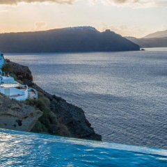 Отель Santorini Secret Suites & Spa пляж фото 2