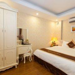 Отель Hanoi Diamond King Ханой комната для гостей фото 2