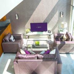 Апартаменты Dream Inn - CentralPark Tower 2BR Duplex Apartment комната для гостей