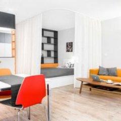 Отель WrocApartments Польша, Вроцлав - отзывы, цены и фото номеров - забронировать отель WrocApartments онлайн комната для гостей фото 3