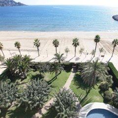 Отель Prestige Victoria Hotel Испания, Курорт Росес - 1 отзыв об отеле, цены и фото номеров - забронировать отель Prestige Victoria Hotel онлайн пляж фото 2
