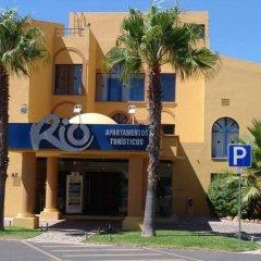 Отель Apartamentos Rio By Garvetur парковка