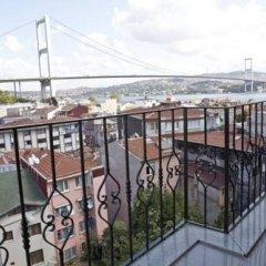 Апартаменты Studio Ortakoy балкон