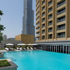 The Address, Dubai Mall Hotel бассейн фото 2