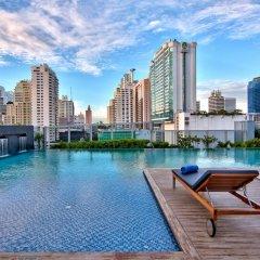 Отель Radisson Blu Plaza Bangkok Бангкок бассейн фото 3