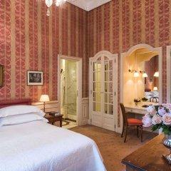 Отель Helvetia & Bristol Firenze Starhotels Collezione Флоренция комната для гостей