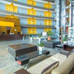 Отель Eurohotel Barcelona Gran Via Fira интерьер отеля