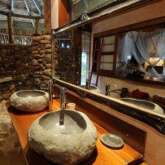 Отель Green Lodge Moorea Французская Полинезия, Папеэте - отзывы, цены и фото номеров - забронировать отель Green Lodge Moorea онлайн ванная