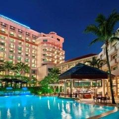 Отель Swissotel Merchant Court Singapore бассейн
