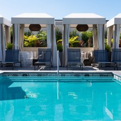 Отель The Mayfair Hotel Los Angeles США, Лос-Анджелес - 9 отзывов об отеле, цены и фото номеров - забронировать отель The Mayfair Hotel Los Angeles онлайн бассейн фото 2