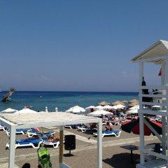 Отель Chris Luxury Apartments Греция, Родос - отзывы, цены и фото номеров - забронировать отель Chris Luxury Apartments онлайн пляж фото 2