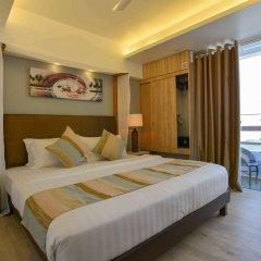 Отель Coconut Tree Hulhuvilla Beach Мале комната для гостей фото 2