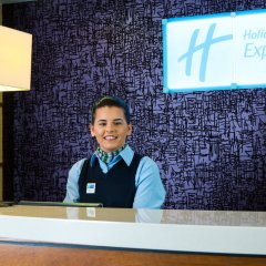 Отель Holiday Inn Express City Centre Riverside Глазго интерьер отеля фото 2