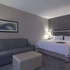 Отель Hampton Inn & Suites Columbus/University Area Колумбус комната для гостей фото 4