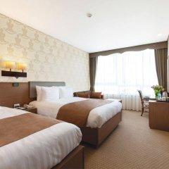 Отель Loisir Hotel Seoul Myeongdong Южная Корея, Сеул - 3 отзыва об отеле, цены и фото номеров - забронировать отель Loisir Hotel Seoul Myeongdong онлайн комната для гостей фото 5