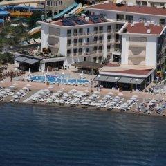 Paşa Garden Beach Hotel Турция, Мармарис - отзывы, цены и фото номеров - забронировать отель Paşa Garden Beach Hotel онлайн пляж фото 2