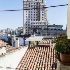 Отель Buhardilla Plaza de España con vistas Испания, Мадрид - отзывы, цены и фото номеров - забронировать отель Buhardilla Plaza de España con vistas онлайн балкон