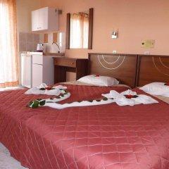 Отель Leonidas Hotel and Studios Греция, Кос - 1 отзыв об отеле, цены и фото номеров - забронировать отель Leonidas Hotel and Studios онлайн комната для гостей фото 4