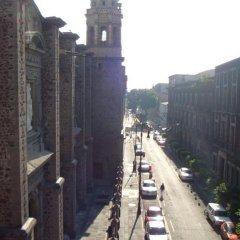 Отель Hostal Amigo Suites Мехико балкон