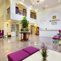 Отель Bonjour Nha Trang Hotel Вьетнам, Нячанг - отзывы, цены и фото номеров - забронировать отель Bonjour Nha Trang Hotel онлайн интерьер отеля фото 3