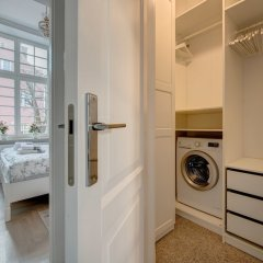 Апартаменты Gdansk Old Town Apartments сейф в номере