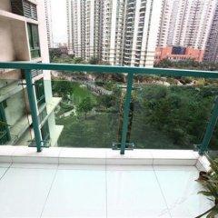 Отель Migrant Bird Hotel (Huanggang Port Branch) Китай, Гонконг - отзывы, цены и фото номеров - забронировать отель Migrant Bird Hotel (Huanggang Port Branch) онлайн балкон