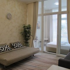 Апартаменты Apartment on Bulvar Nadezhd 6-2-106 Сочи комната для гостей фото 3