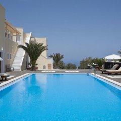 Отель Villa Danezis Греция, Остров Санторини - отзывы, цены и фото номеров - забронировать отель Villa Danezis онлайн бассейн фото 3