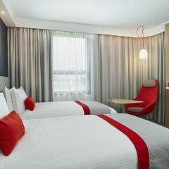 Отель Holiday Inn Express Amsterdam - City Hall Нидерланды, Амстердам - 2 отзыва об отеле, цены и фото номеров - забронировать отель Holiday Inn Express Amsterdam - City Hall онлайн комната для гостей